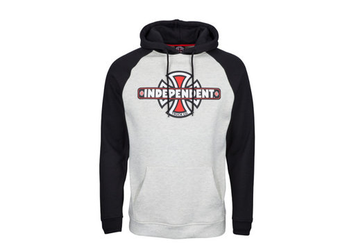 Independent Independent Truck Co Raglan Hood Black/Athletic Heather