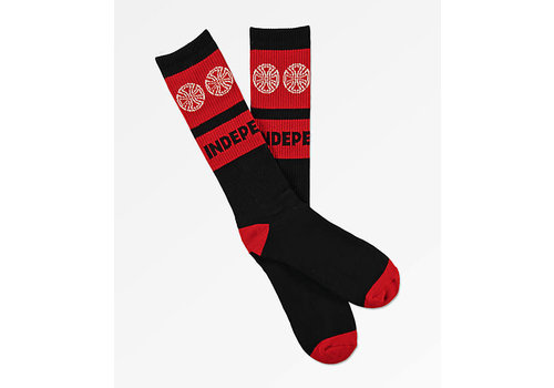 Independent Independent Woven Crosses Sock Black One Size