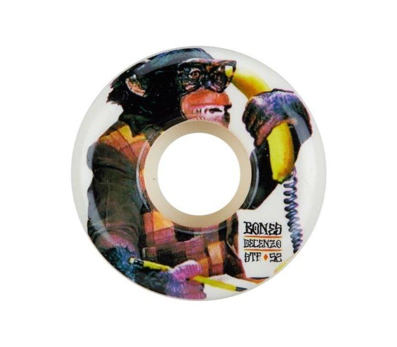 Bones Wheels Decenzo Monkey Bizz 53mm V2 Locks