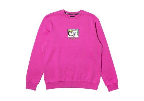 Ripndip RipNDip Lady Friend Crewneck Sweater Fuchsia