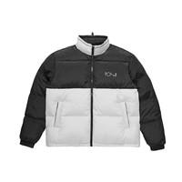 Polar Combo Puffer Jacket Black/Ice Grey