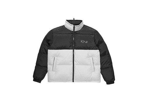 Polar Polar Combo Puffer Jacket Black/Ice Grey