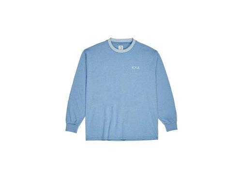 Polar Polar Striped Rib Longsleeve Blue
