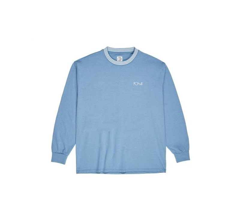 Polar Striped Rib Longsleeve Blue