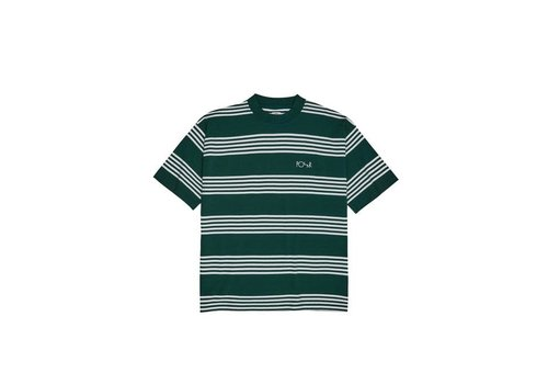Polar Polar Striped Surf Tee Dark Green