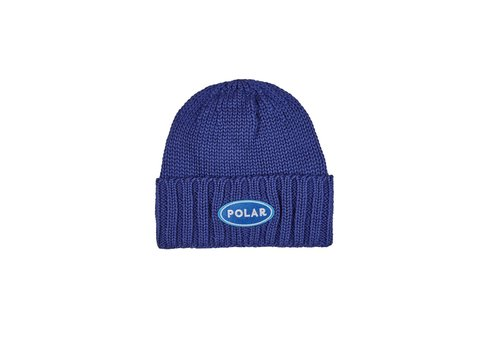 Polar Polar Patch Beanie Blue