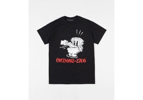 Call Me 917 Call Me 917 - No Shit Dialtone Tee - Black