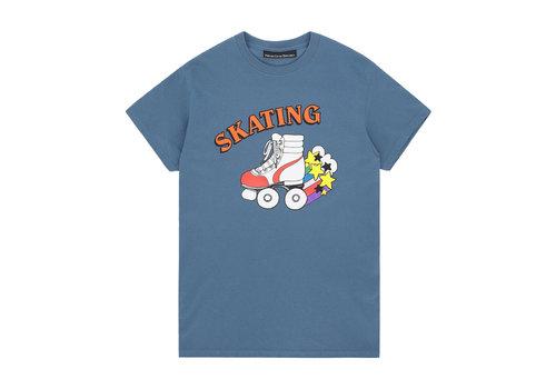Call Me 917 Call Me 917 - Skate Or Die Tee - Blue