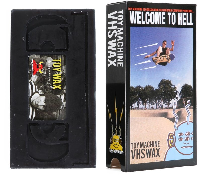 Toy Machine VHS Wax - Welcome To Hell