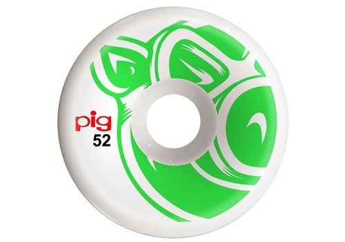 Pig Pig USA Wheels Head C-Line Green 52mm
