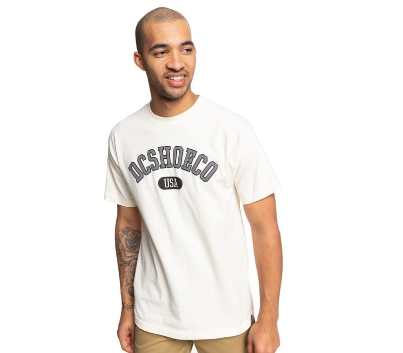 DC Arched Tee Antique White