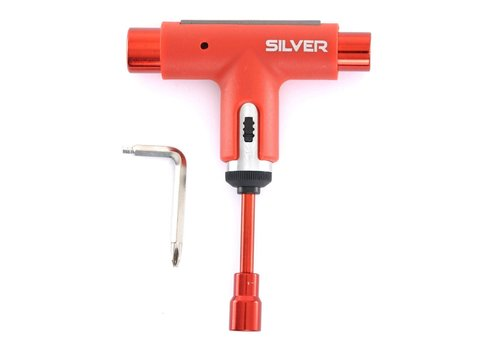 Silver SIlver Tool Spectrum Red