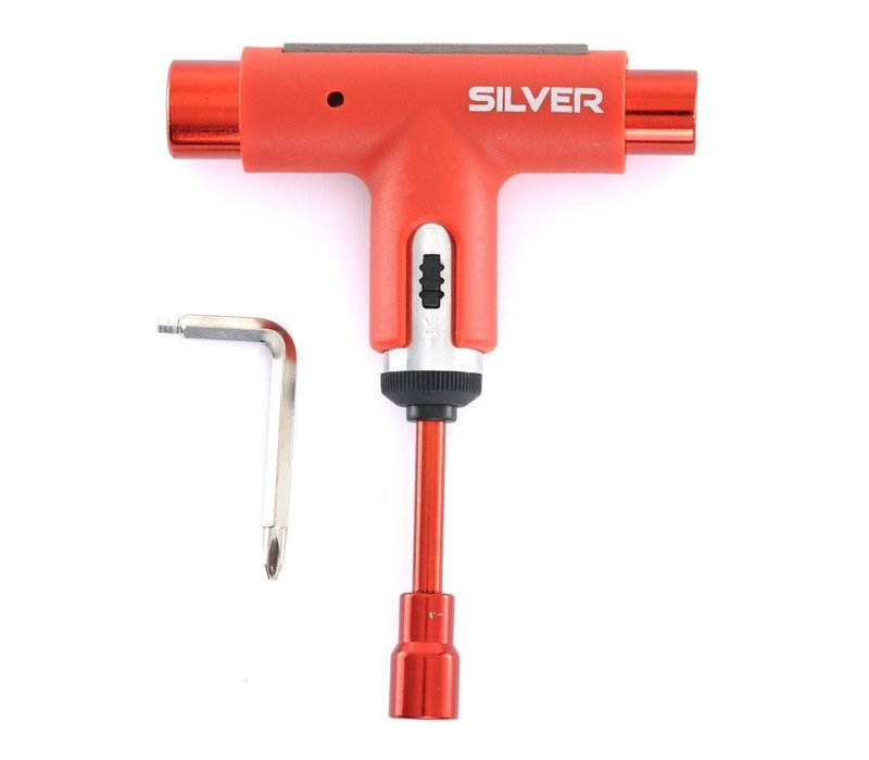 SIlver Tool Spectrum Red