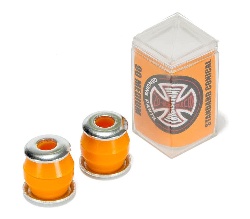 Independent Conical Bushings Medium Orange 90A