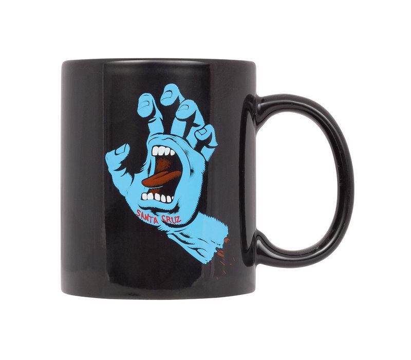 Santa Cruz Screaming Hand Mug Black
