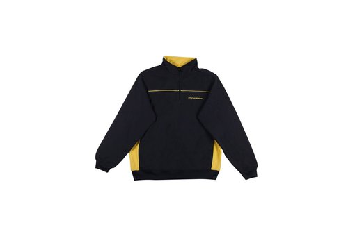 Sour Sour You Got Mail 1/4 Zip Sweat Navy/Yellow