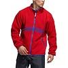Adidas Adidas Sherpa Full Zip Red/Blue/Yellow