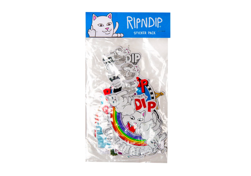 Ripndip Ripndip Stickerpack Fall 19 (10-Pack)
