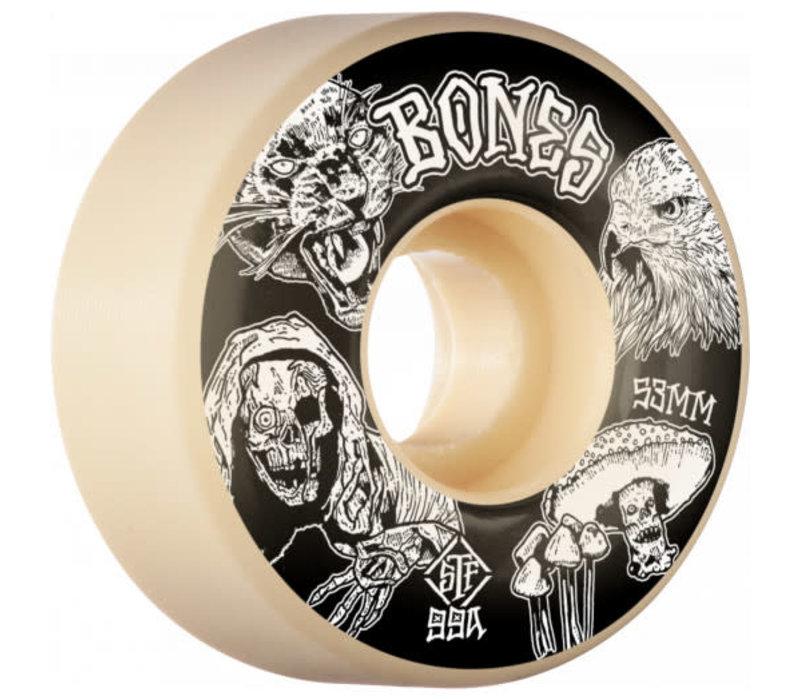 Bones Wheels Night Watch Easy Streets V1 STF 53mm