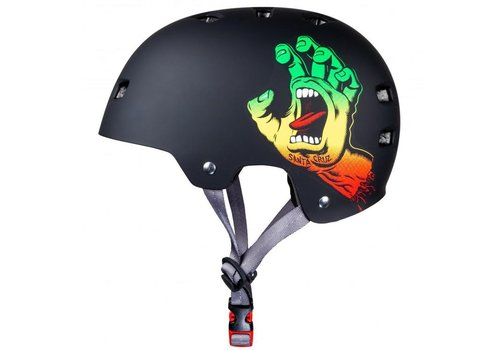 Bullet Bullet Screaming Hand Rasta Helmet S/M (54-57cm) Black