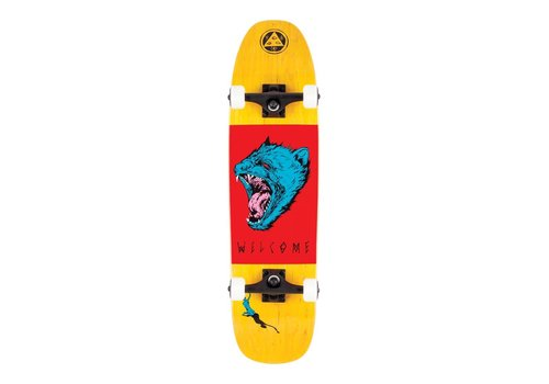 Powell Peralta Welcome Tasmanian Angel Complete 8.25 Yellow Stain/Red/Blue