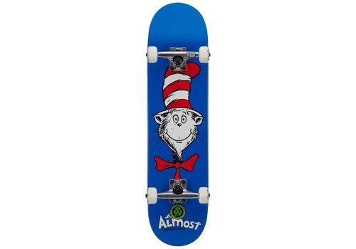 Almost Dr Seuss Cat Face Complete 7.875