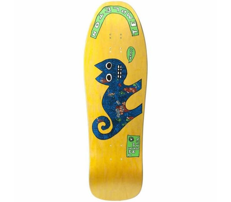 New Deal Ed Templeton Cat SP Re-Issue 9.75 Yellow