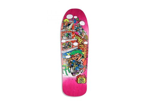 New Deal NEW DEAL HOWELL TRICYCLE KID SCREENPRINTED DECK 9.625