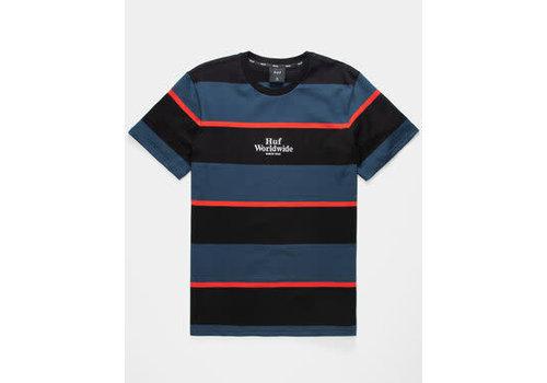 HUF Huf Mazon Stripe Knit Tee Blue