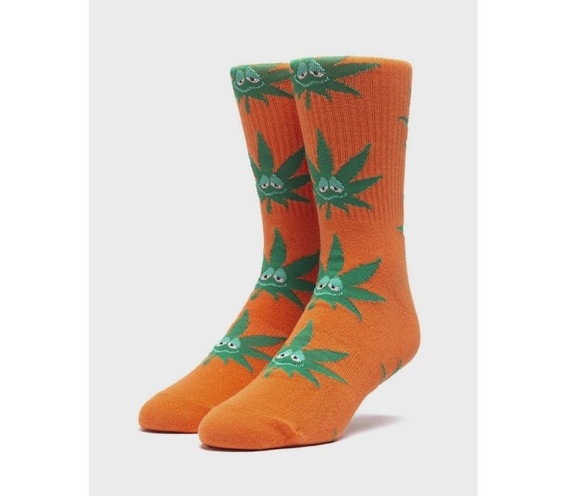 Huf Green Buddy Sock Russet Orange