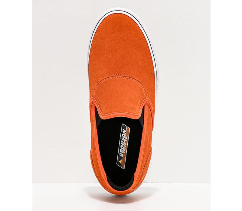 Emerica Wino G6 Slip On x Bronson Orange