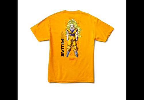 Primitive Primitive x Dragonball Z Goku Glow Tee Gold