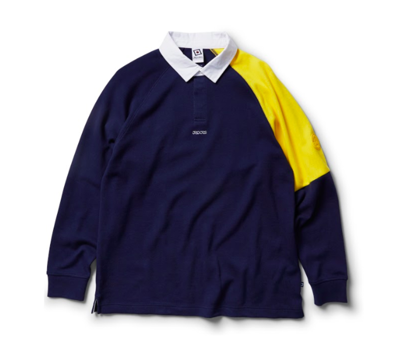 Droors - Saxon Rugby LS Blue/Yellow
