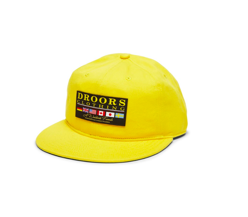 Droors - Worldwide Favorite Cap Yellow