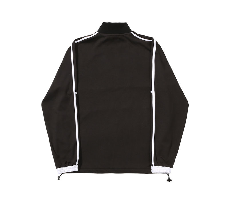 Helas Liga Quarter Zip Black