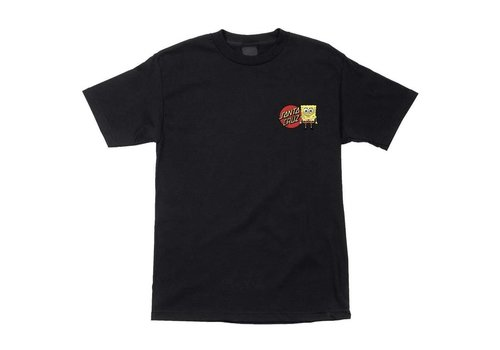 Santa Cruz Santa Cruz x Spongebob Group Tee Youth Black