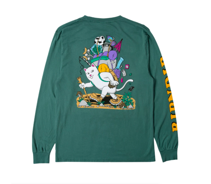 Ripndip Hiker Nerm Longsleeve Hunter Green