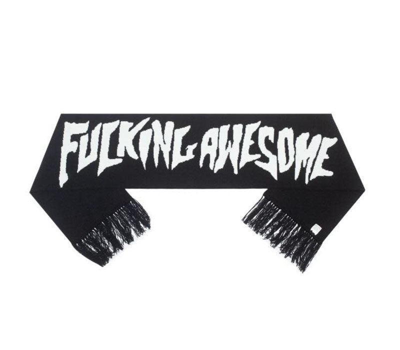 FA - Stamp Scarf With Fringe