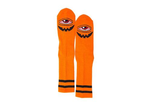 Toy Machine Sect-O-Latern Crew Sock Orange