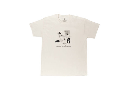 Sour Sour In Barcelona Tee - Sour Cream