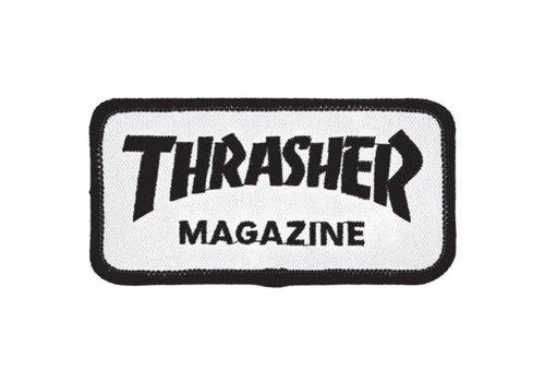 Thrasher Thrasher Skatemag Patch White