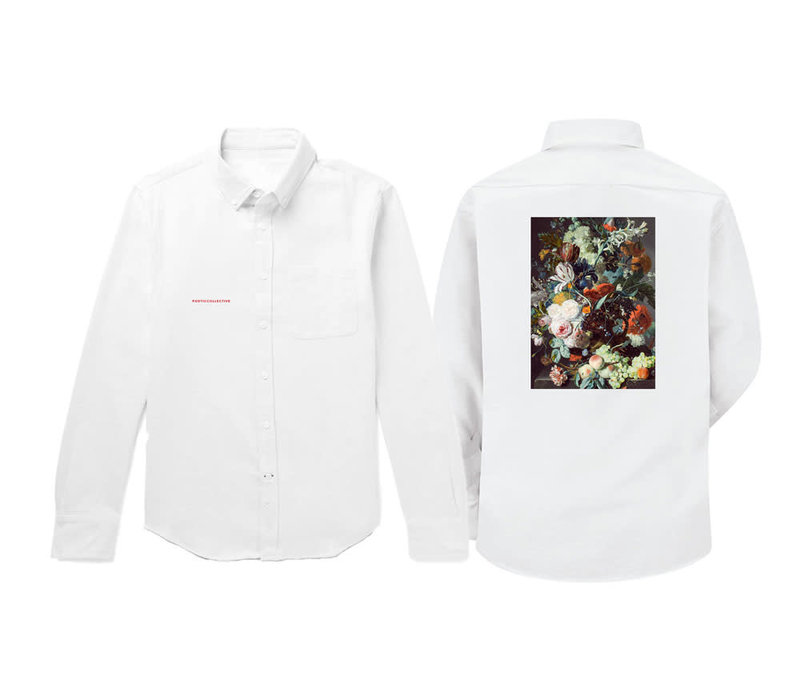 Poetic Collective Still Life Shirt White