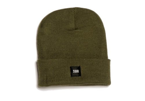 Sour Sour Army Beanie Olive