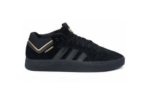 Adidas Adidas Tyshawn Black/Black/Gold