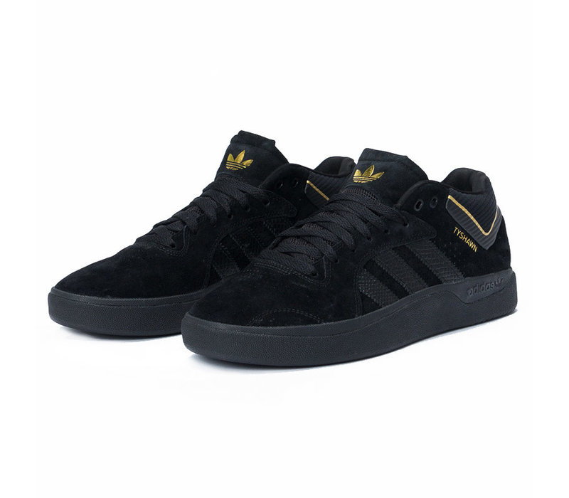 Adidas Tyshawn Black/Black/Gold
