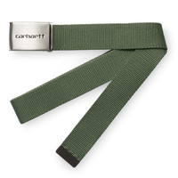 Carhartt Clip Belt Chrome Dollar Green