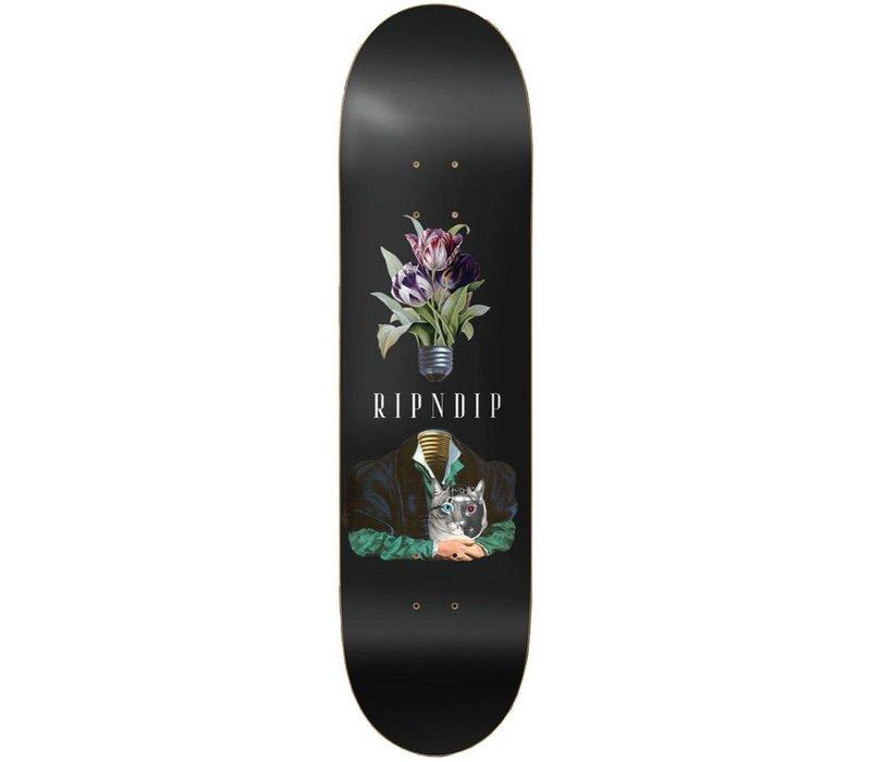 RipNDip Lights Out Skateboard Deck Black 8.0