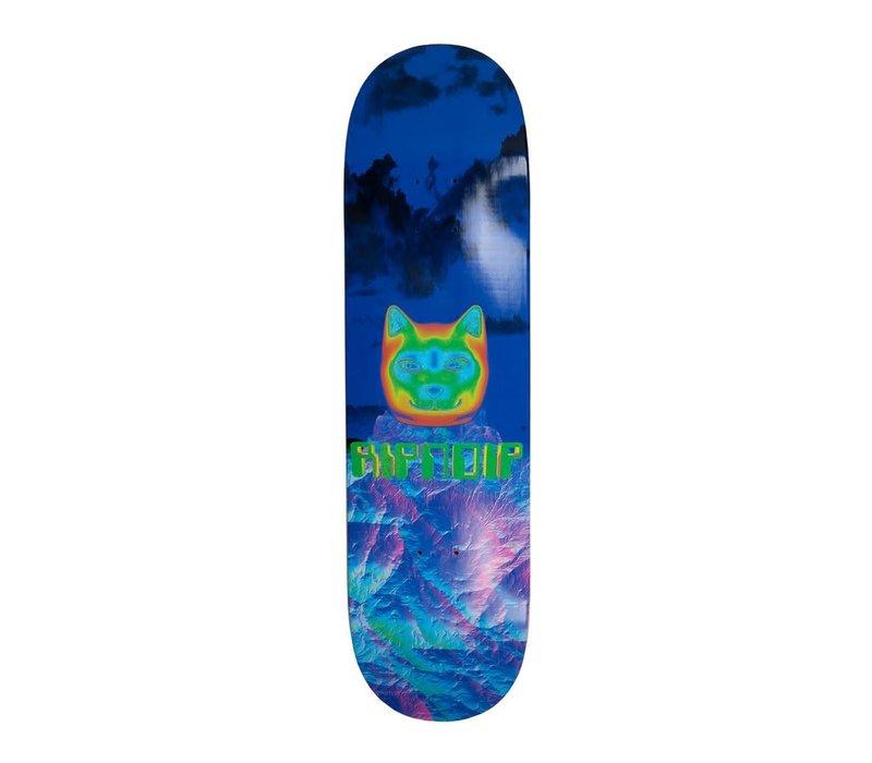 RipNDip Thermal Nermal Skateboard Deck Blue 8.25