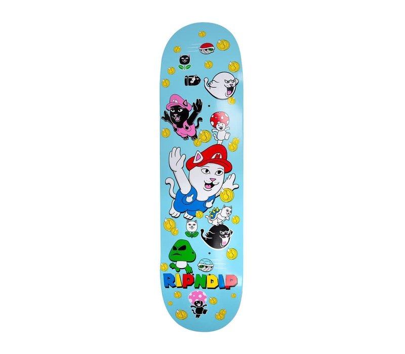 RipNDip Nermio Skateboard Deck Blue 8.0