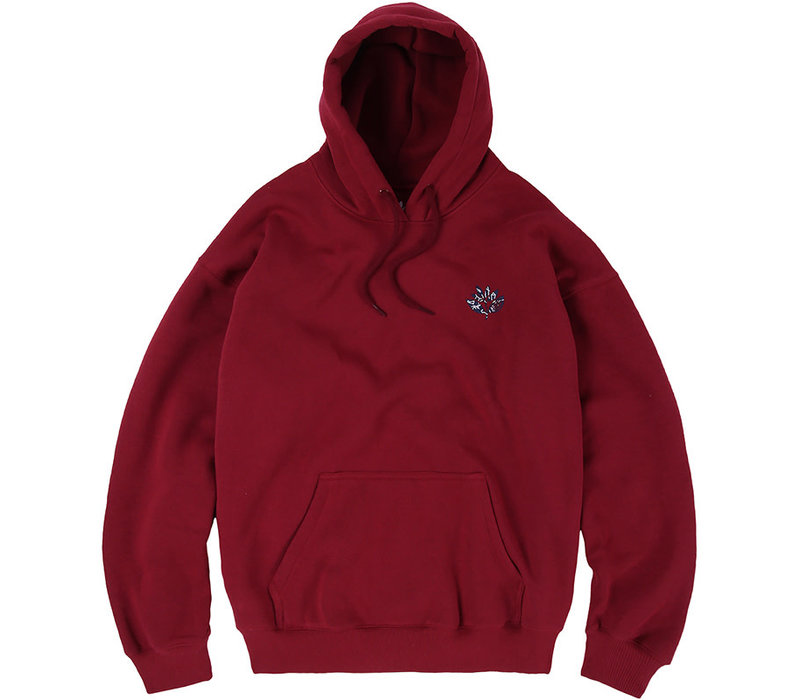 Magenta Constellation Hoodie Burgundy
